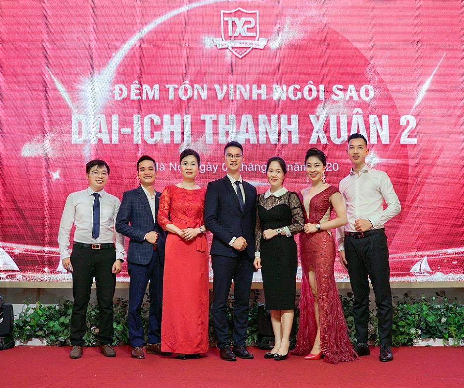 Ban Lãnh đạo Dai Ichi Life Thanh Xuân 2 Chụp Hình Lưu Niệm Cùng Lãnh đạo Cấp Cao Dai Ichi Life Việt Nam