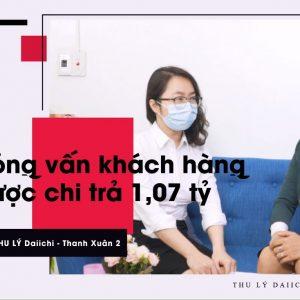 Dai-ichi Life Chi Trả 1,07 Tỷ đồng Cho Khách Hàng Không May Mắc Bệnh Hiểm Nghèo